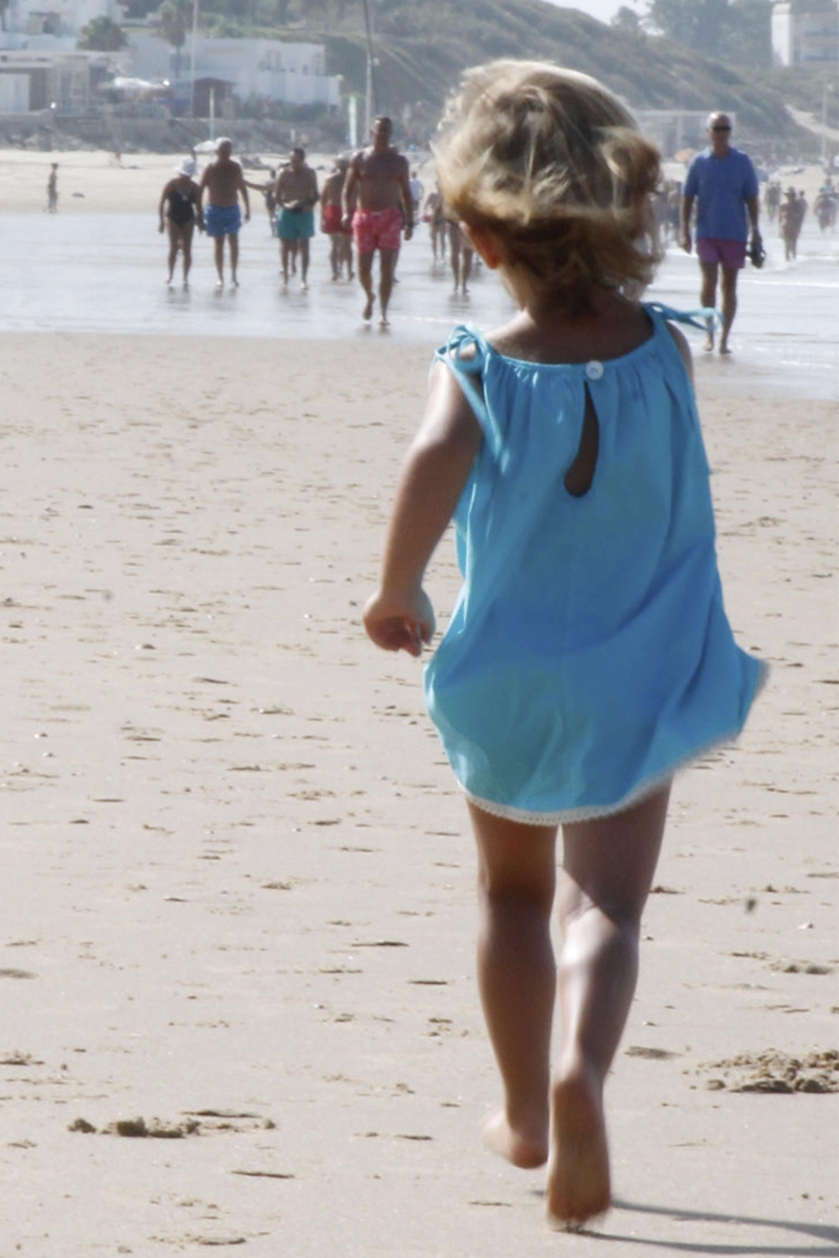 vestido mamay azul moda infantil